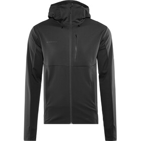 Mammut Ultimate V Veste SO à capuche Homme, black-black